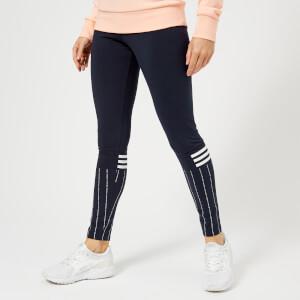 adidas Women's Sport I.D Print Tights - Legend Ink