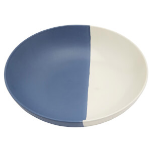 Joules Stoneware Pasta Bowl - French Navy