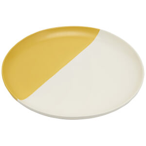 Joules Stoneware Dinner Plate - Gold