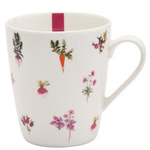 Joules Fine China Mug - Radish Stripe