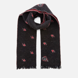 McQ Alexander McQueen Women's Swallow 8 Ball Scarf - Black