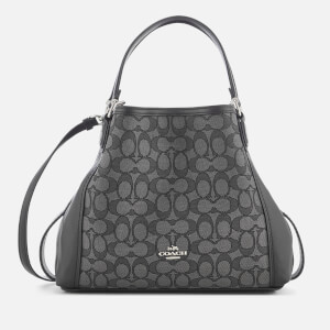 Coach Women's Edie 28 Shoulder Bag - Black Smoke