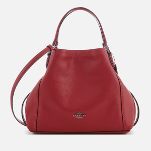 Coach Women's Edie 28 Shoulder Bag - Washed Red
