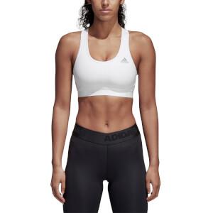 adidas Women's Climacool Sports Bra - White