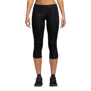 adidas Women's Response 3/4 Running Tights