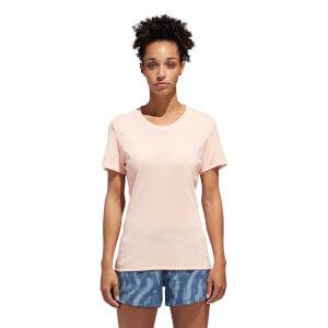 adidas Women's Supernova Reflective Running T-Shirt - Clear Orange