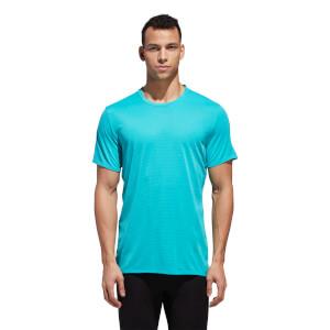 adidas Men's Supernova Running T-Shirt - Aqua