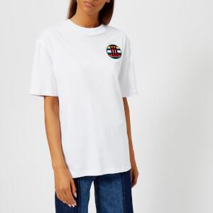 McQ Alexander McQueen Women's Boyfriend Scout Badge T-Shirt