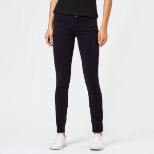 Emporio Armani Women's J28 Mid Rise Jeans - Navy