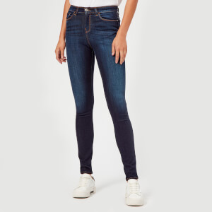 Emporio Armani Women's J20 High Rise Jeans - Blue
