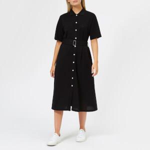 Maison Kitsuné Women's Polo Dress - Black