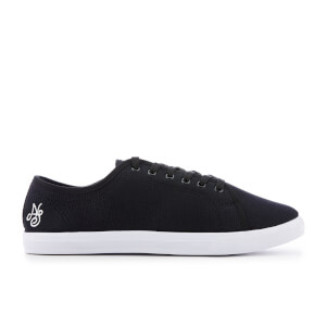 Native Shore Men's Coast Plimsolls - Black