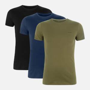 Diesel Men's Jake Three Pack T-Shirts - Multi