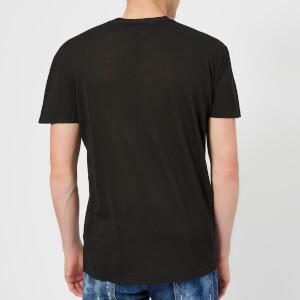 Dsquared2 Men's Pressato Long Fit T-Shirt - Black: Image 2
