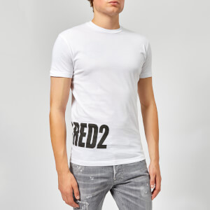 Dsquared2 Men's Hem Logo T-Shirt - White
