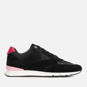 Android Homme Men's Belter 2.0 Suede Runner Style Trainers - Black