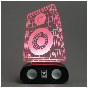 Sound reactive speaker - speaker