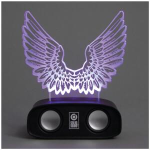 Geräuschreaktive Lautsprecher – Flügel