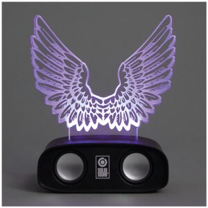 Sound reactive speaker - wings