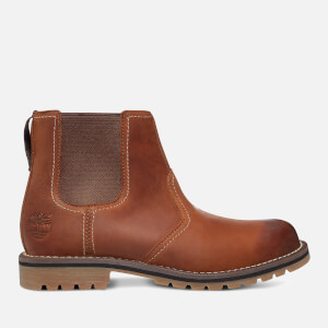 Timberland Men's Larchmont Nubuck Chelsea Boots - Medium Brown