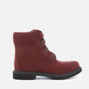 Timberland Women's 6 Inch Premium Waterproof Leather Convenience Boots - Dark Port