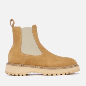 Diemme Women's Alberone Suede Chelsea Boots - Beige