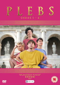Plebs - Series 1-4 Complete Box Set