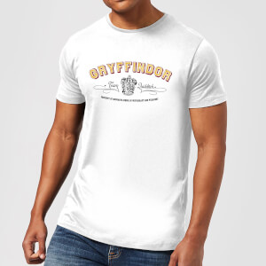 Harry Potter Gryffindor Team Quidditch Herren T-Shirt - Weiß