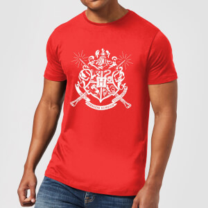 Harry Potter Hogwarts House Crest Herren T-Shirt - Rot