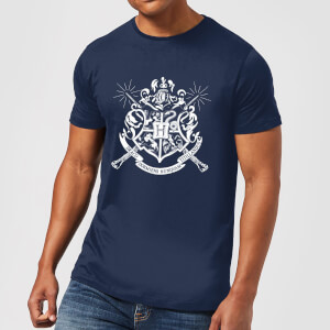 T-Shirt Harry Potter Hogwarts House Crest - Navy - Uomo
