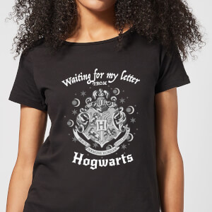 Harry Potter Waiting For My Letter From Hogwarts Damen T-Shirt - Schwarz