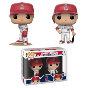 MLB Angels Shohei Ohtani Pop! Vinyl Figure 2 Pack