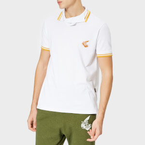 Vivienne Westwood Anglomania Men's Squiggle Polo Shirt - White