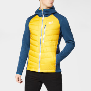 Jack Wolfskin Men's Skyland Crossing Jacket - Golden Yellow