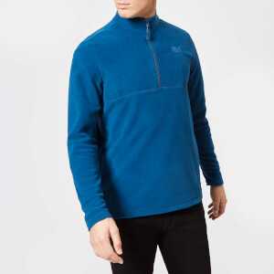 Jack Wolfskin Men's Gecko Fleece - Poseidon Blue