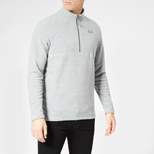 Jack Wolfskin Men's Gecko Fleece - Slate Grey