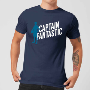 Captain Fantastic Herren T-Shirt - Navy