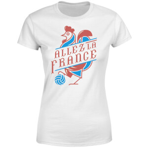 Allez La France Women's T-Shirt - White