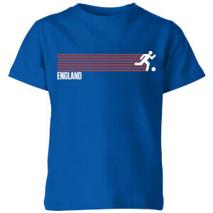 England Forward Kinder T-Shirt - Royal Blue