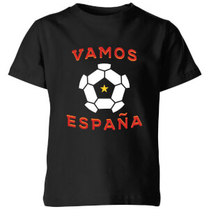 Vamos Espana Kids' T-Shirt - Black