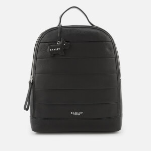 Radley Women's Babington Medium Backpack Ziptop - Black