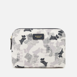 Radley Women's Data Dog Medium Ziptop Pouch - Chalk