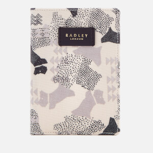 Radley Women's Data Dog Passport Cover - Chalk