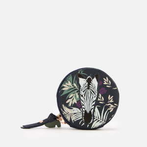 Radley Women's Longleat Palms Small Round Coin Purse - Ink