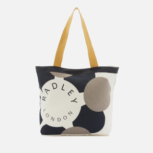 Radley Women's Graphic Radley Large Canvas Tote Bag - Primrose