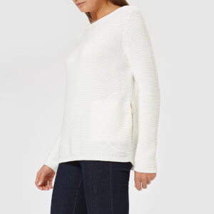 Barbour International Women's Aragan Knitted Jumper - Off White