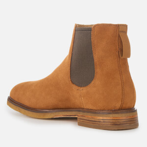 Clarks Men's Clarkdale Gobi Suede Chelsea Boots - Dark Tan: Image 2