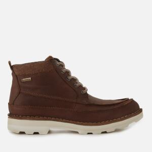 Clarks Men's Korik Rise GORE-TEX Leather Lace Up Boots - British Tan