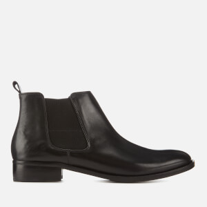 Clarks Women's Netley Ella Leather Chelsea Boots - Black