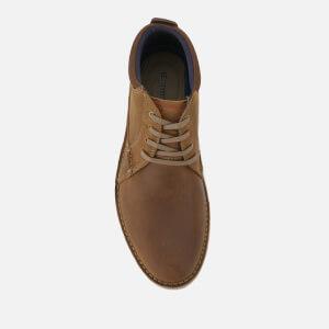 Clarks Men's Vargo Mid Leather Chukka Boots - Dark Tan: Image 3